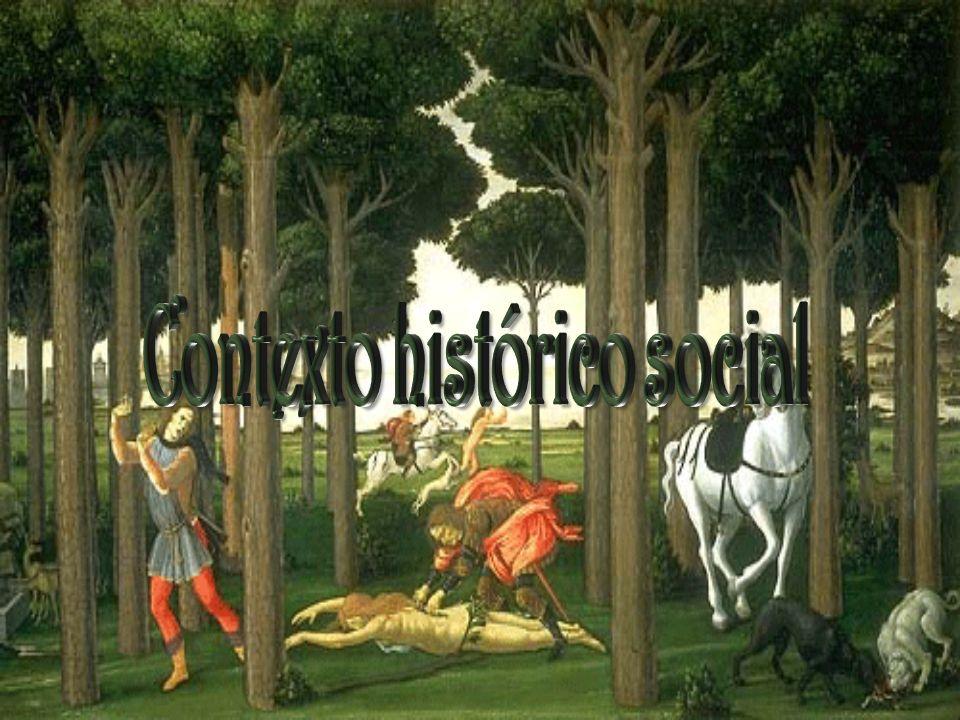 La obra se desarrolla durante la época en que la peste bubónica hacía estragos en Europa, y sobre todo en Florencia en el año de 1348.