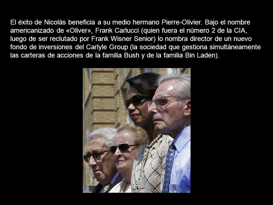 El éxito de Nicolás beneficia a su medio hermano Pierre-Olivier.