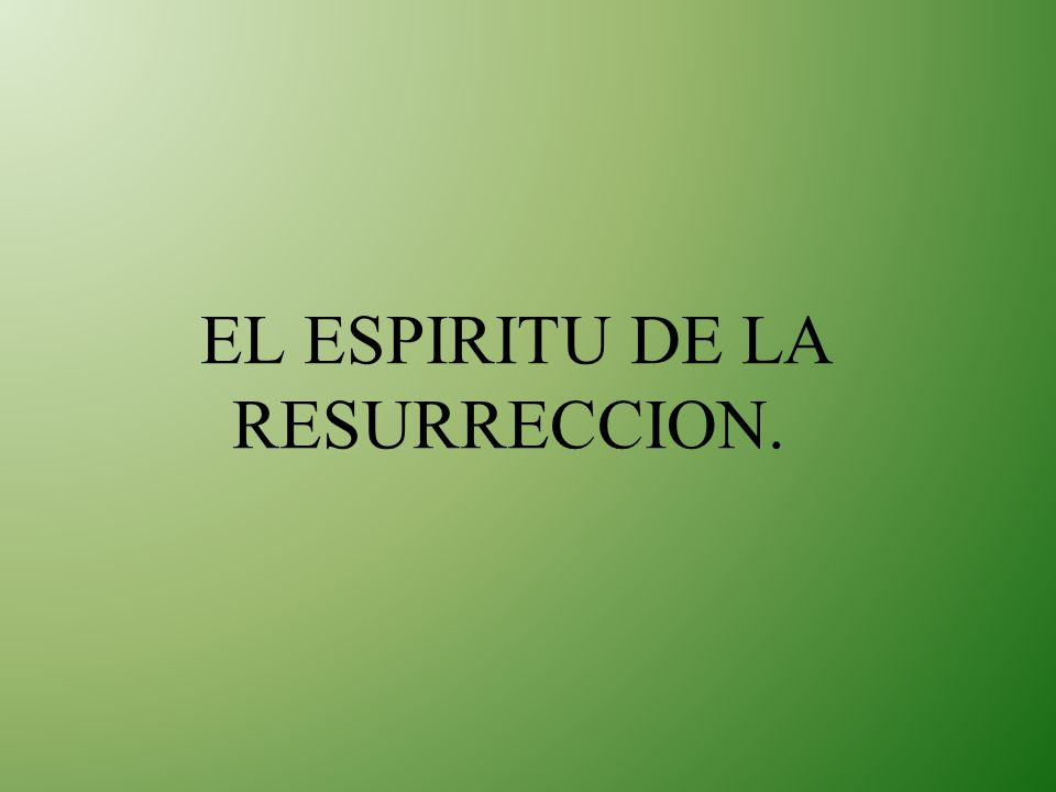 El efecto de la obra del Espíritu Santo no es meramente reformación sino transformación.