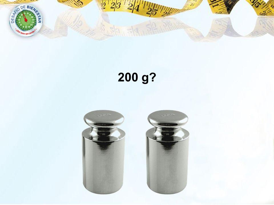 200 g?
