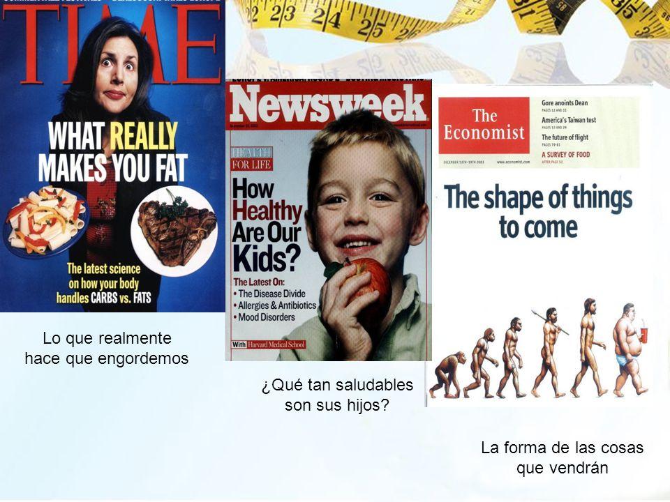 Lo que realmente hace que engordemos ¿Qué tan saludables son sus hijos? La forma de las cosas que vendrán