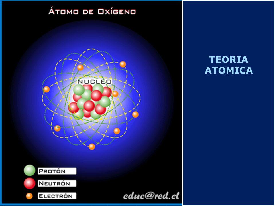 Determinación de la masa de un elemento químico Ejemplo: ISOTOPOS DEL CARBONO Como la mayoría de los elementos están formados por varios isótopos, éstos en distinta proporción en la naturaleza, la masa de un elemento se halla haciendo la media ponderada de todos ellos.