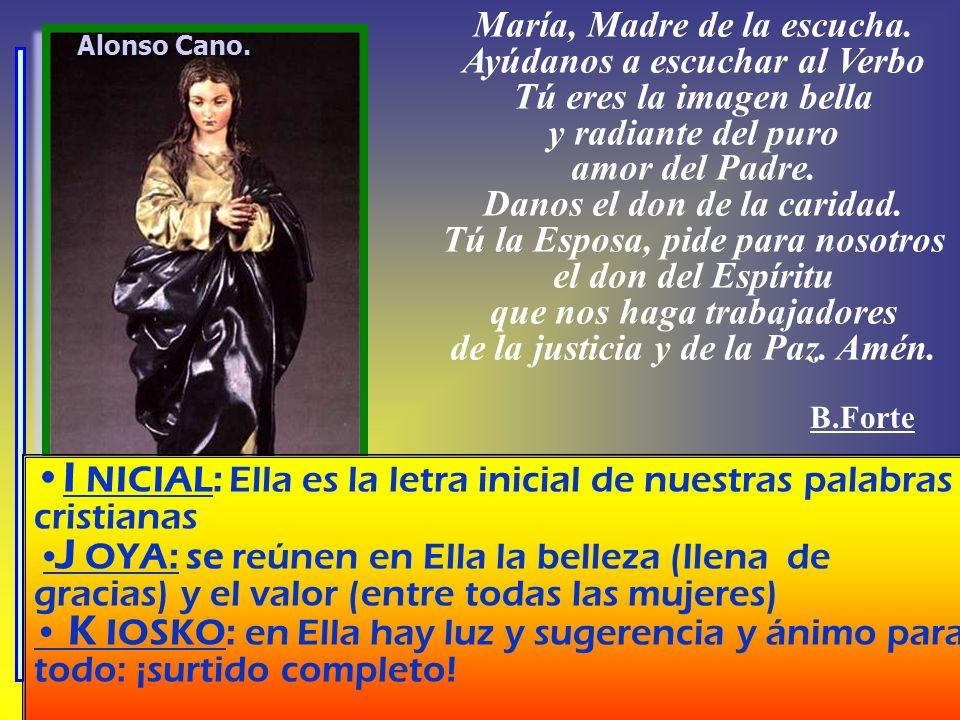 Alonso Cano.María, Madre de la escucha.