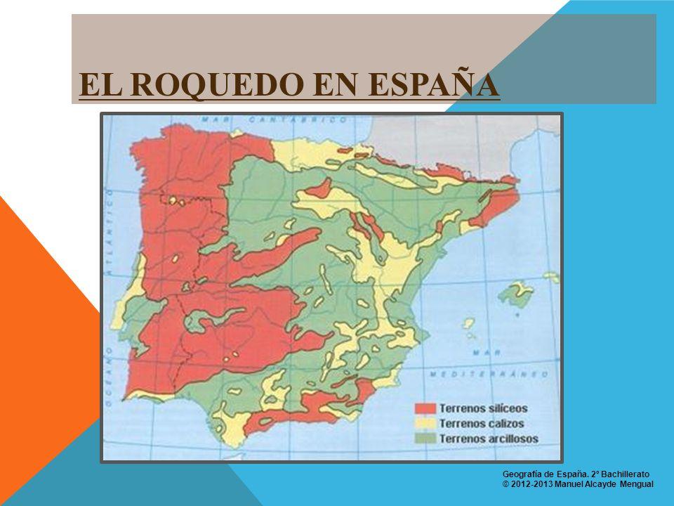 RESUMEN Geografía de España. 2º Bachillerato © 2012-2013 Manuel Alcayde Mengual