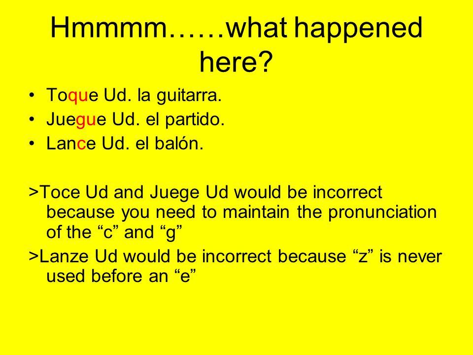 Hmmmm……what happened here.Toque Ud. la guitarra. Juegue Ud.