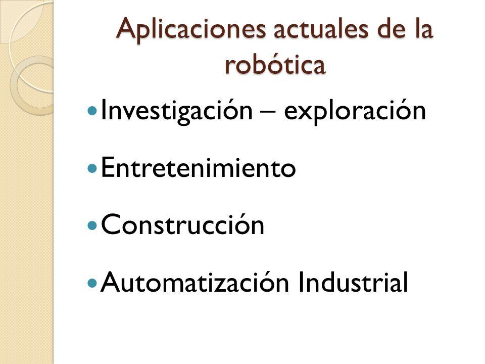 2.Eléctrico Se usa la energía eléctrica para que el robot ejecute sus movimientos.