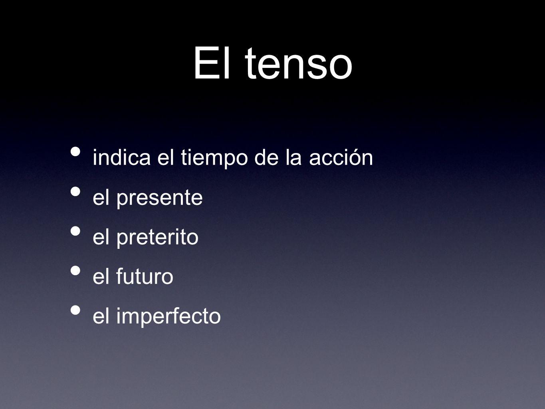 ¿Cómo lo forma? Go to the present indicative (yo) form of the verb. tengo vengo conozco bebo