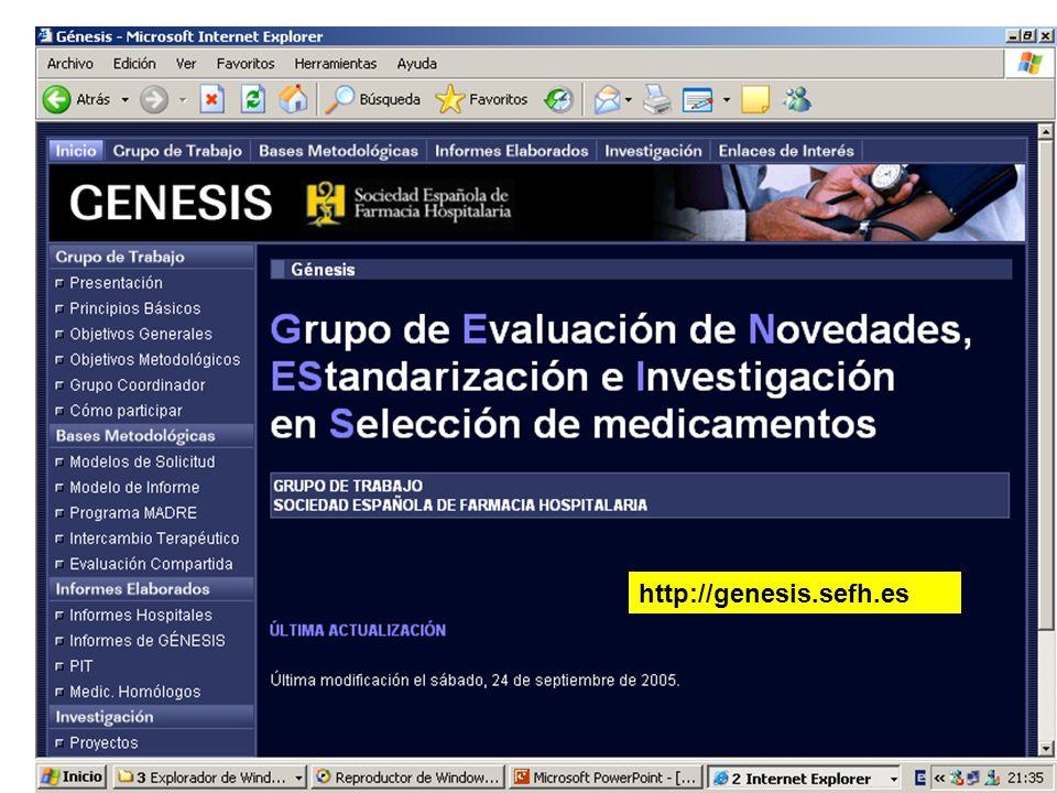 GENESIS http://genesis.sefh.es