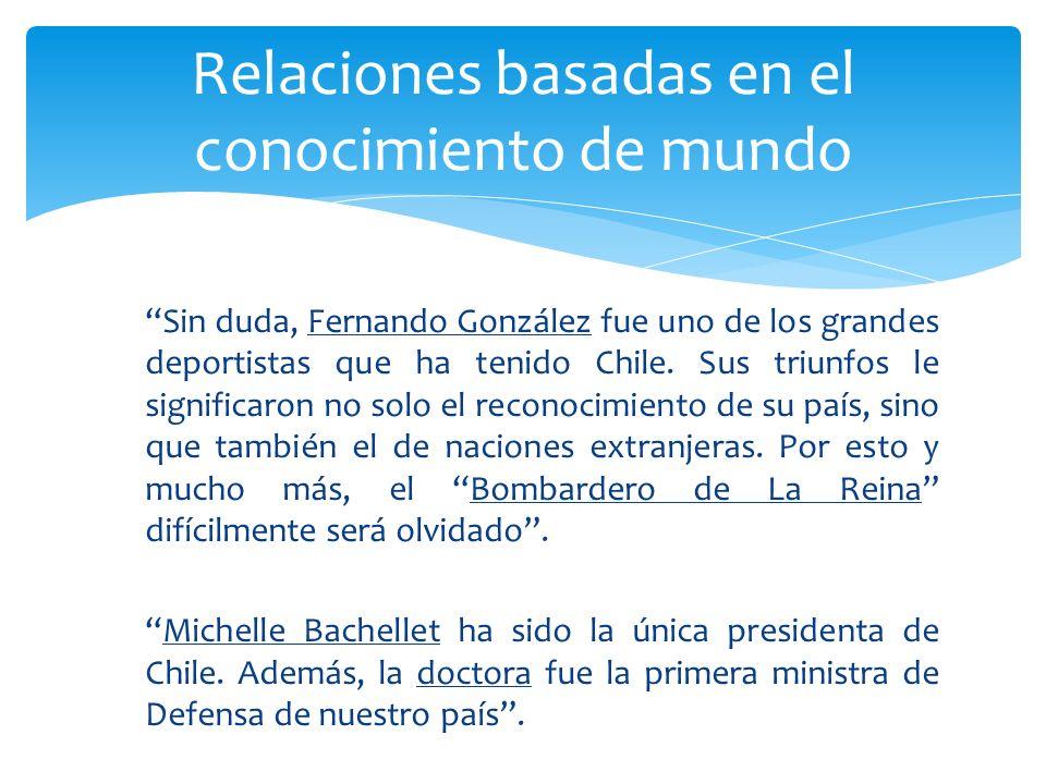 Sin duda, Fernando González fue uno de los grandes deportistas que ha tenido Chile. Sus triunfos le significaron no solo el reconocimiento de su país,