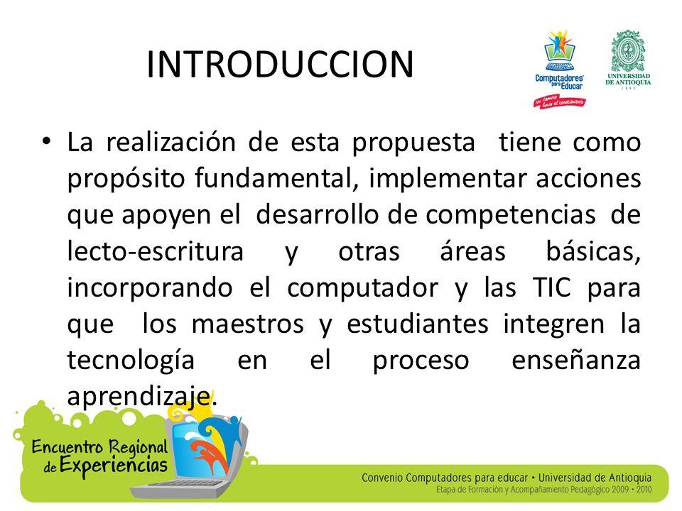 INTRODUCCION El tipo de investigación que se va a emplear es de acuerdo a los estándares y lineamientos curriculares y al manejo de las TIC con el acompañamiento de CPE.