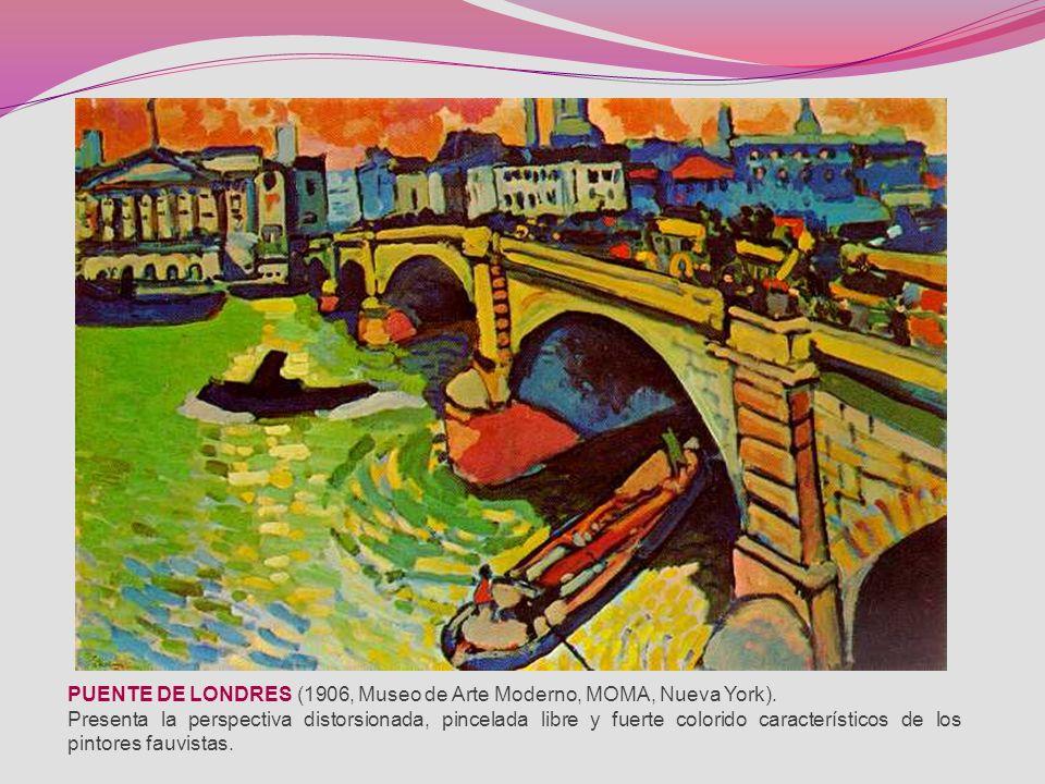 André Derain junto con Vlaminck, perteneció a la llamada