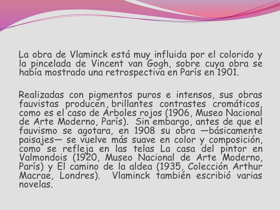 Pintor fauvista francés, que nació en París. Antes de convertirse en artista, fue ciclista de competición y trabajaba como violinista. En buena medida