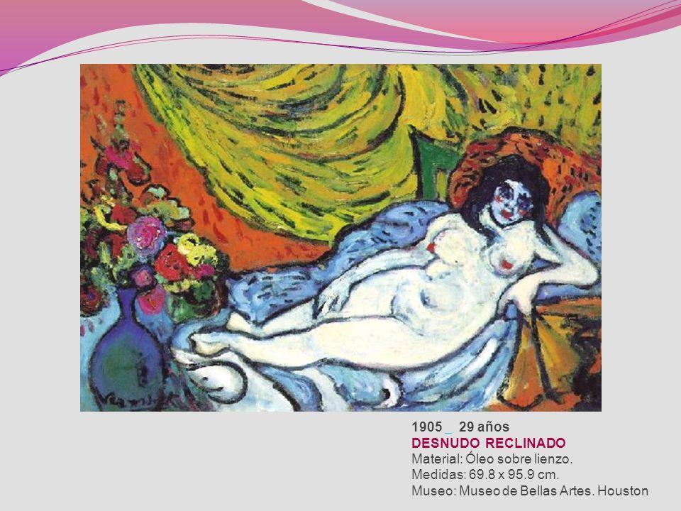 RESTAURANTE EN MARLY-LE-ROI 1905 Material: Óleo sobre lienzo. Medidas: 60 x 81,5 cm. Museo: Museo de Orsay. París