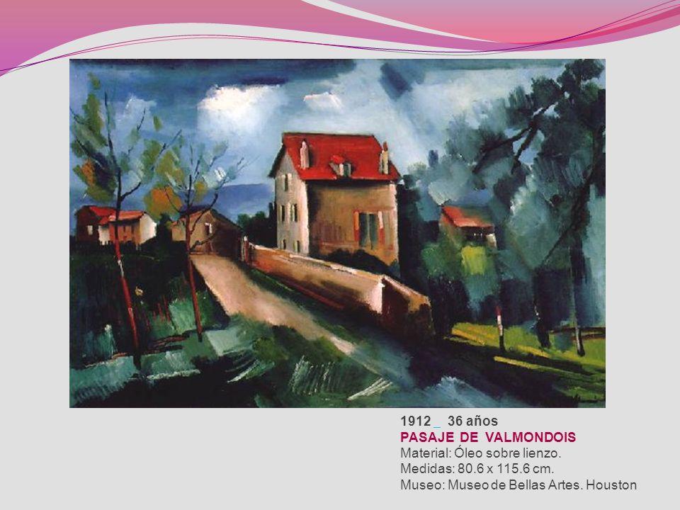 1906 30 años EL CIRCO Material: Óleo sobre lienzo. Medidas: 60 x 73.3 cm. Museo: Galería Ernst Beyeler. Basilea