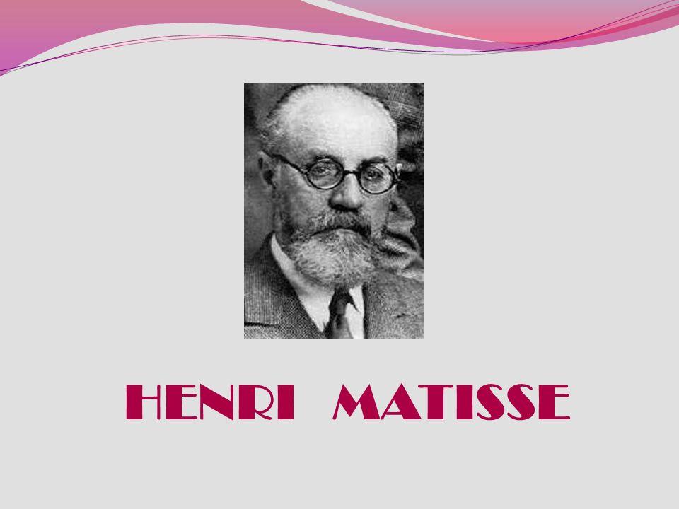 Matisse rompió definitivamente con la representación naturalista (óptica) del color: la nariz de una mujer puede representarse con una mancha verde si