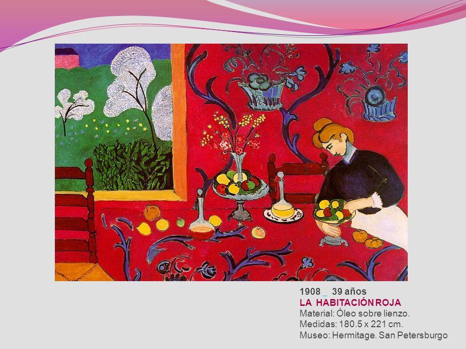 El bodegón representó un papel central en la maduración pictórica de Matisse. Su primer cuadro fue una Naturaleza muerta con libros. Matisse se ganó l