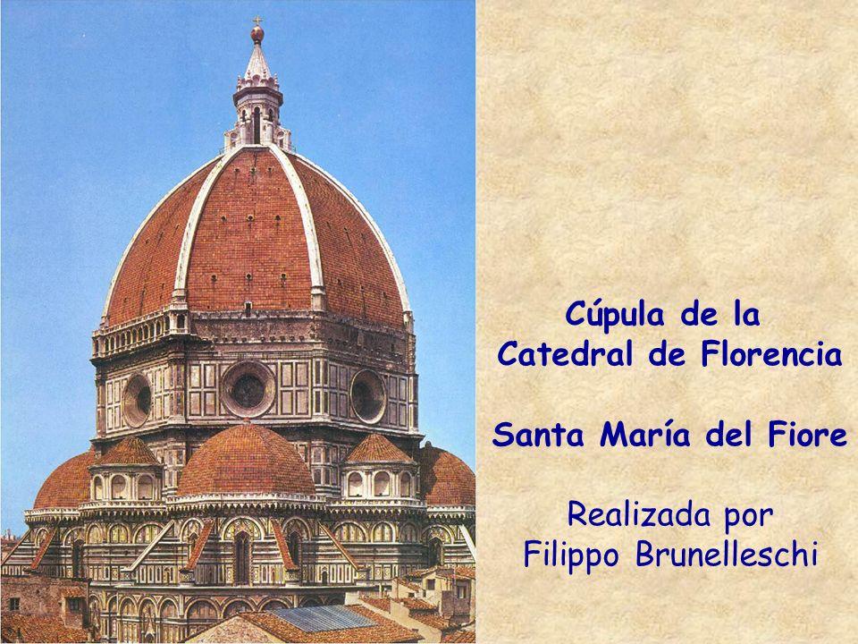 Cúpula de la Catedral de Florencia Santa María del Fiore Realizada por Filippo Brunelleschi