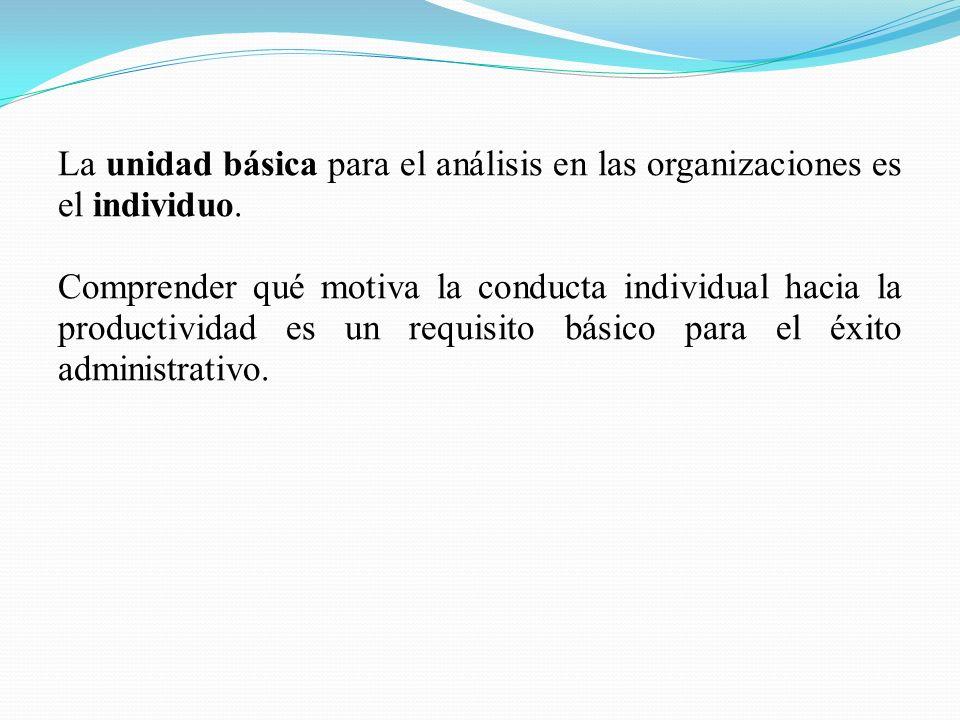 Los invididuos se relacionan entre sí de maneras sistemáticas dentro de la organización.