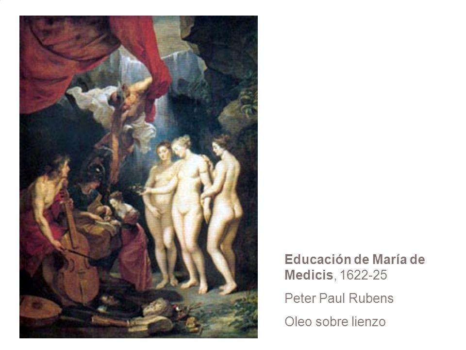 Educación de María de Medicis, 1622-25 Peter Paul Rubens Oleo sobre lienzo