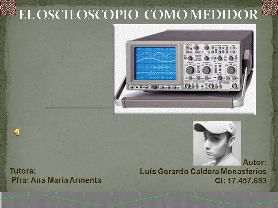Tutora: Pfra: Ana María Armenta Autor: Luís Gerardo Caldera Monasterios CI: 17.457.693