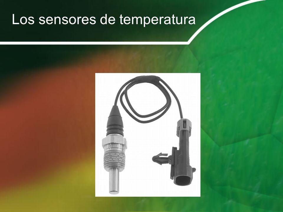 Los sensores de temperatura