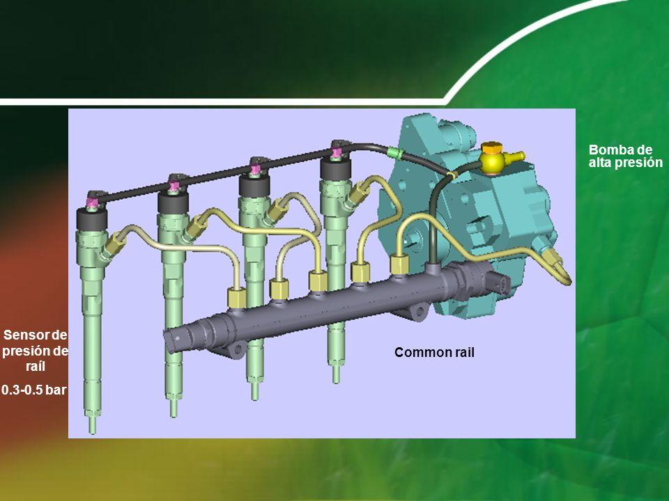 Bomba de alta presión Common rail Sensor de presión de raíl 0.3-0.5 bar