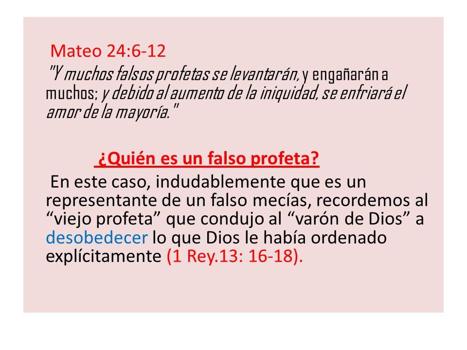 Mateo 24:6-12