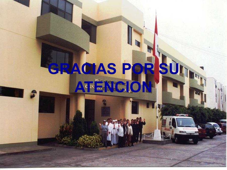 39 GRACIAS POR SU ATENCION