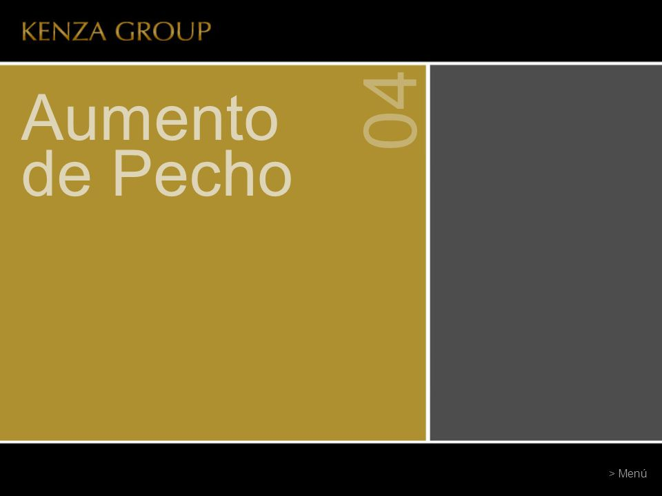 Aumento de Pecho 04 > Menú