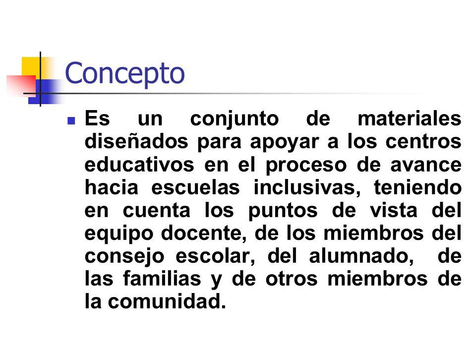 3ª Fase: Elaboración de un plan de mejora escolar con una orientación inclusiva Introducción del Index en el proceso de planificación escolar.