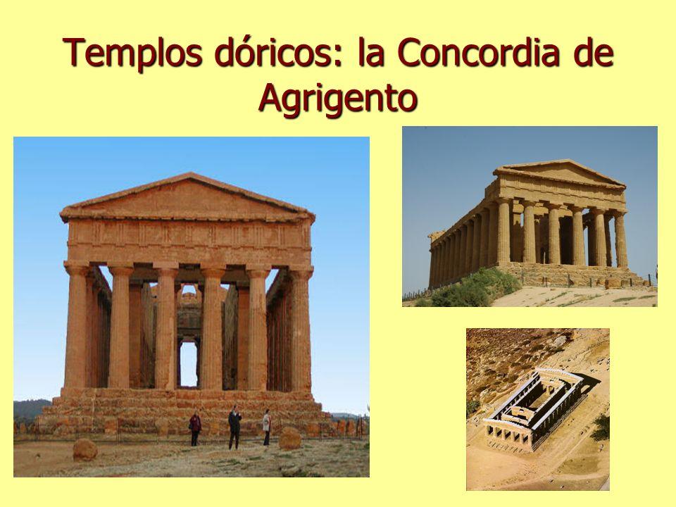 Templos dóricos: la Concordia de Agrigento