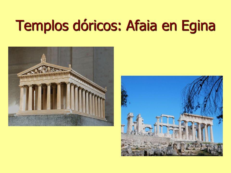 Templos dóricos: Afaia en Egina
