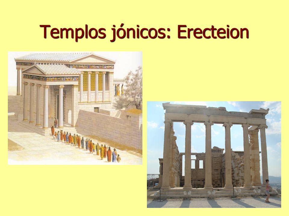 Templos jónicos: Erecteion
