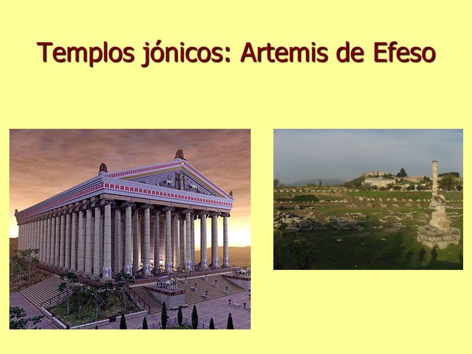 Templos jónicos: Artemis de Efeso