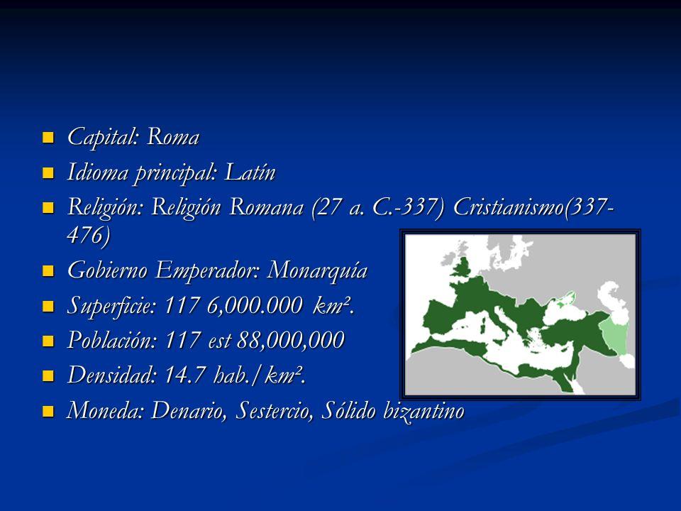 Sociedad La sociedad romana original (comienzos de la República) se configura de dos clases sociales que tenían la ciudadanía romana: una aristocracia de propietarios (patricii, patricios) y una clase popular que luchaba por conseguir derechos (plebs, plebeyos).