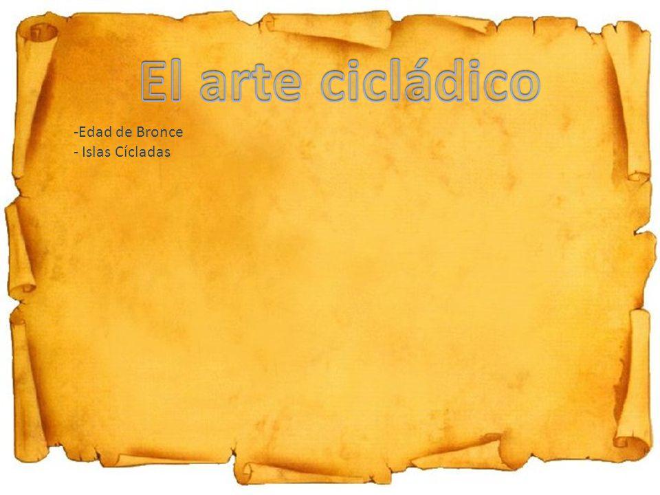 -Edad de Bronce - Islas Cícladas