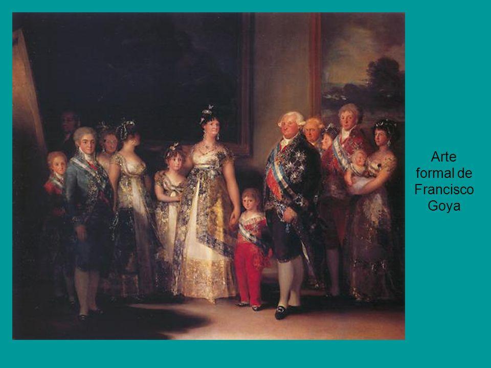 Arte formal de Francisco Goya