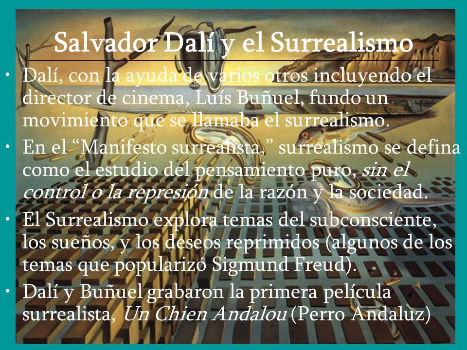 Salvador Dalí y el Surrealismo _______________________________________________________________________________________________________________________
