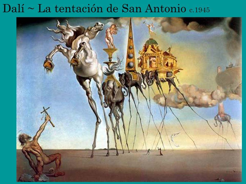 Dalí ~ La tentación de San Antonio c.1945