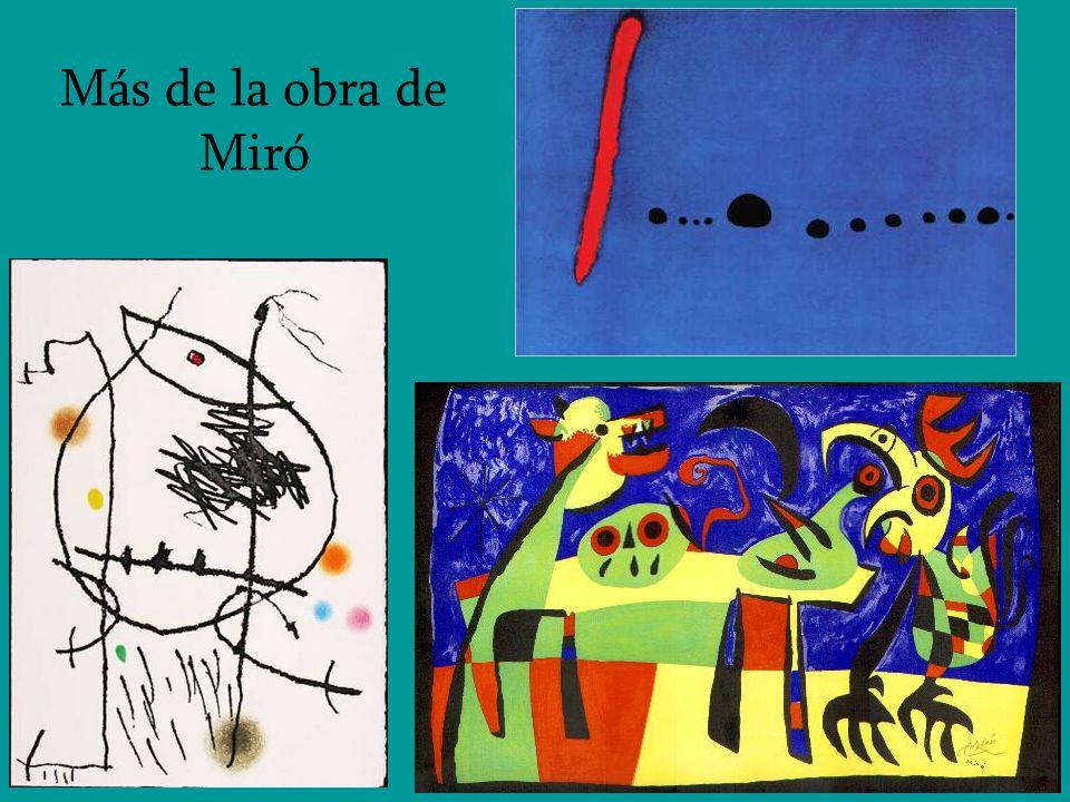 Más de la obra de Miró