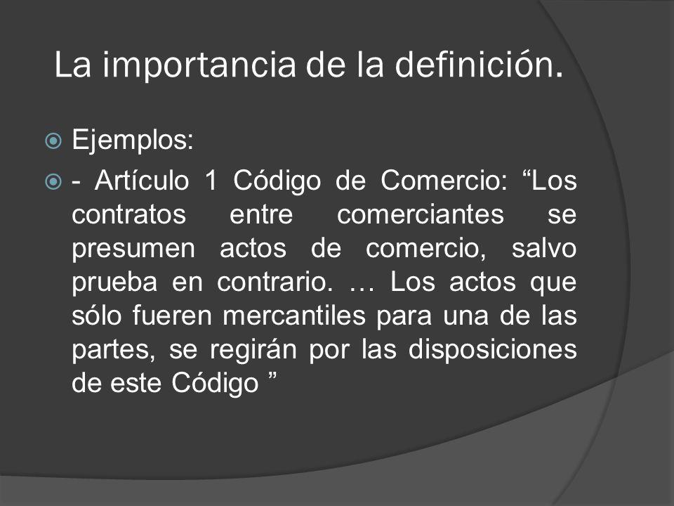 La importancia de la definición.c.