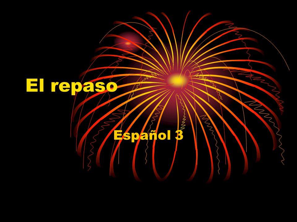 El repaso Español 3