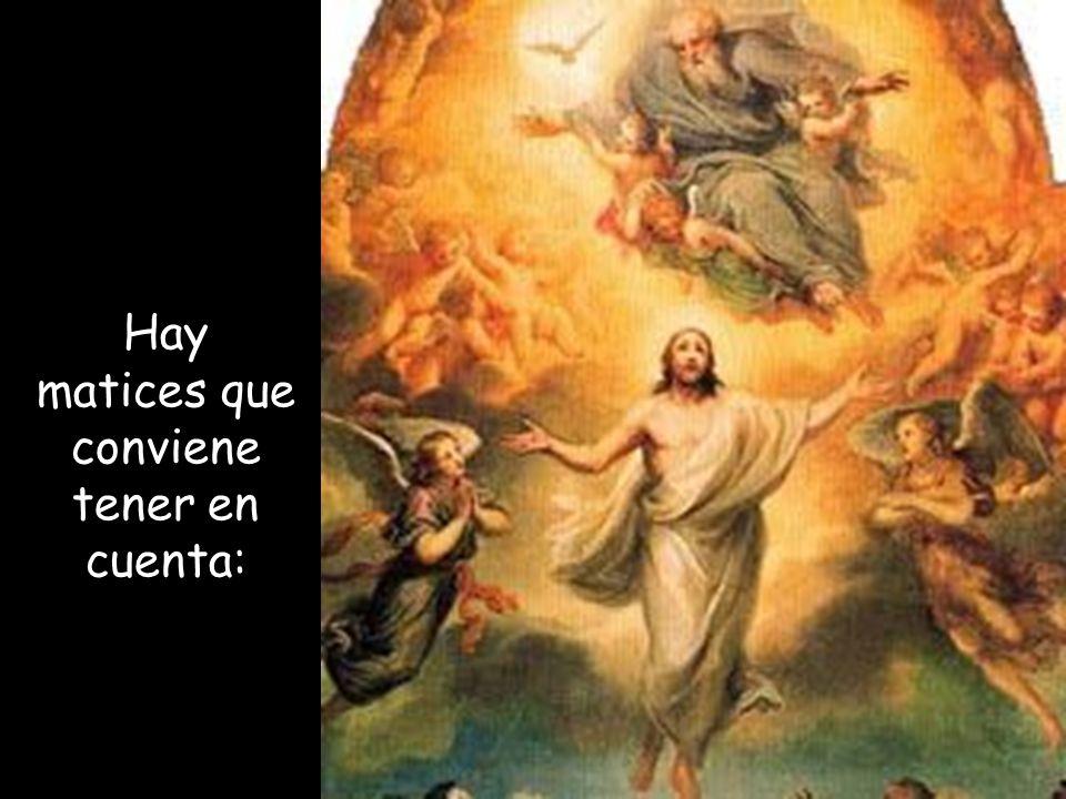 El relato de la Ascensión de Jesús, que nos describe Lucas, tiene parecidos con el de los Hechos de los apóstoles (1, 7-11).