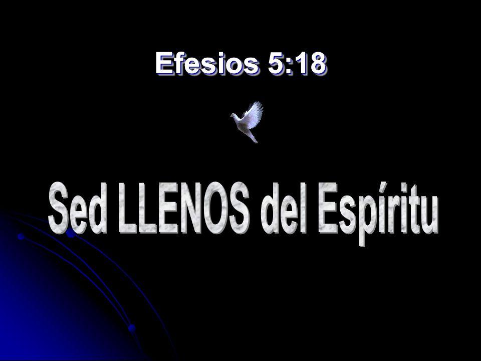 Efesios 5:18