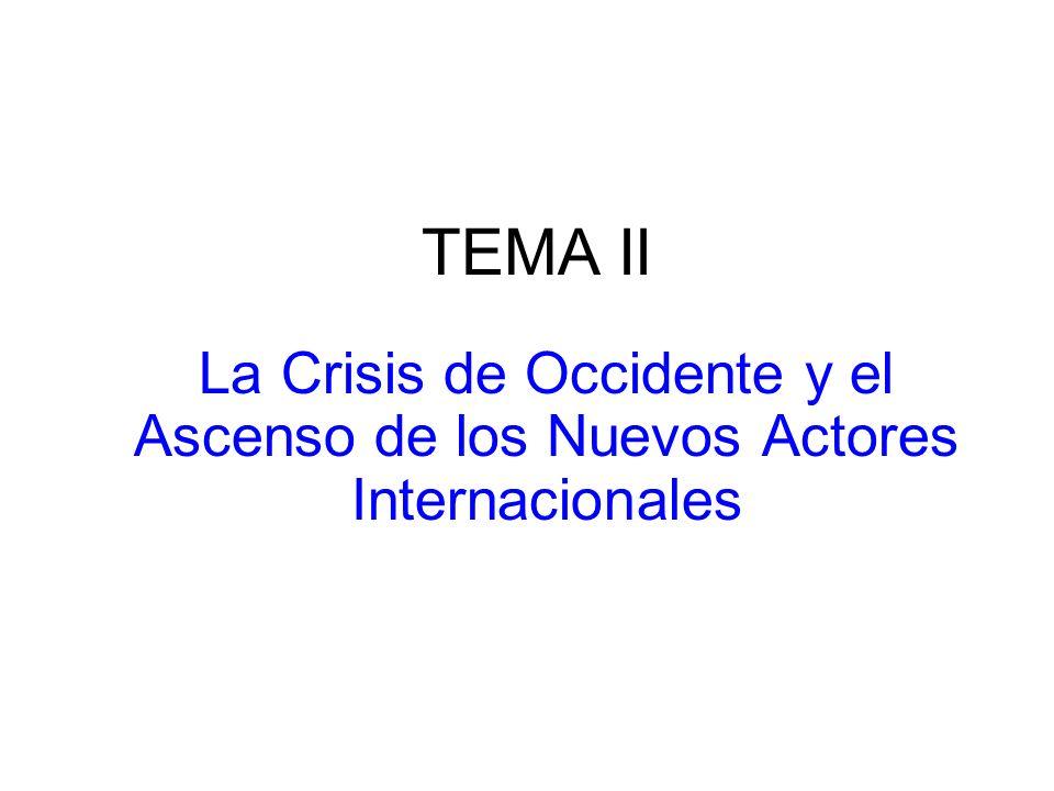 TEMA IV Absolutismo y Revolución : El estallido de las Contradicciones Franco Inglesas
