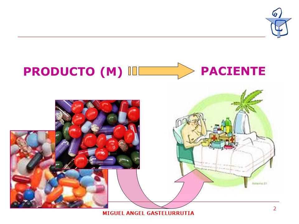 MIGUEL ANGEL GASTELURRUTIA 3 Medicamento genérico: todo medicamento que tenga la misma composición cualitativa y cuantitativa en principios activos y la misma forma farmacéutica, y cuya bioequivalencia con el medicamento de referencia haya sido demostrada por estudios adecuados de biodisponibilidad.