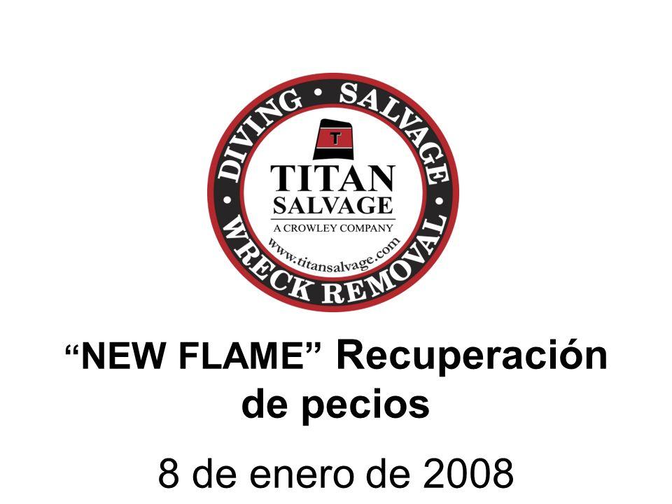 NEW FLAME Recuperación de pecios 8 de enero de 2008