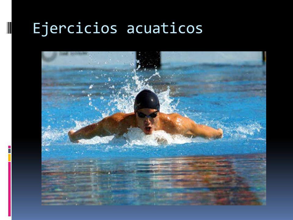 Ejercicios acuaticos