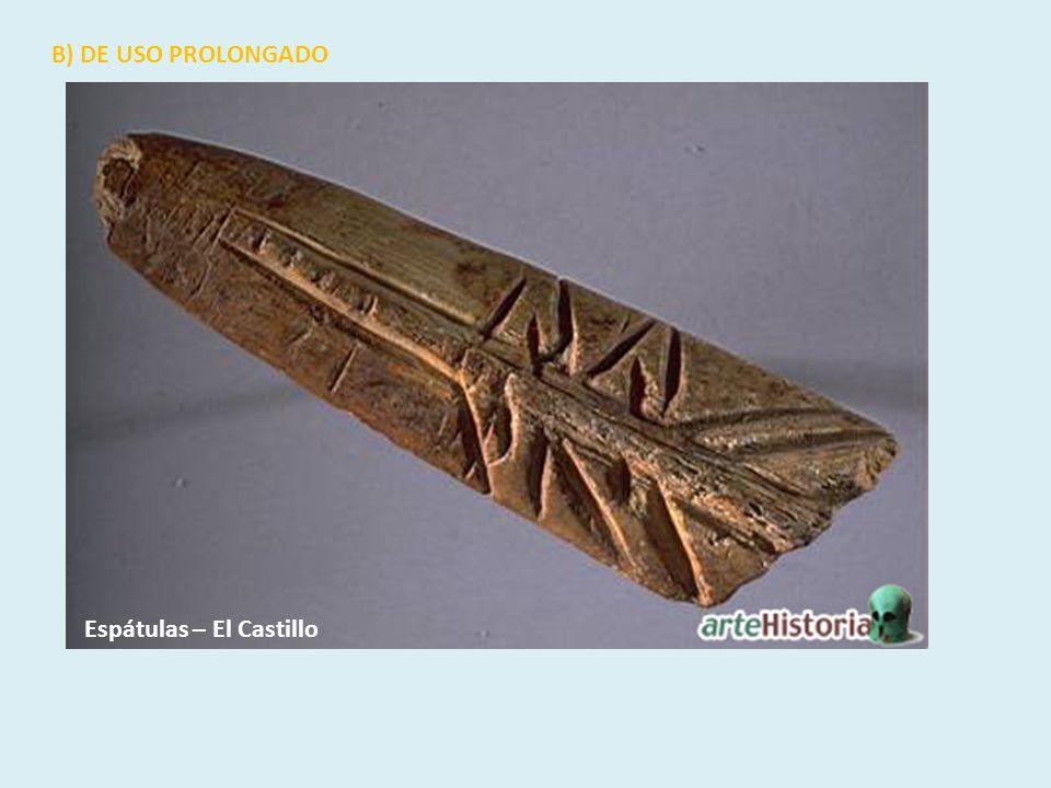 Espátulas – El Castillo B) DE USO PROLONGADO