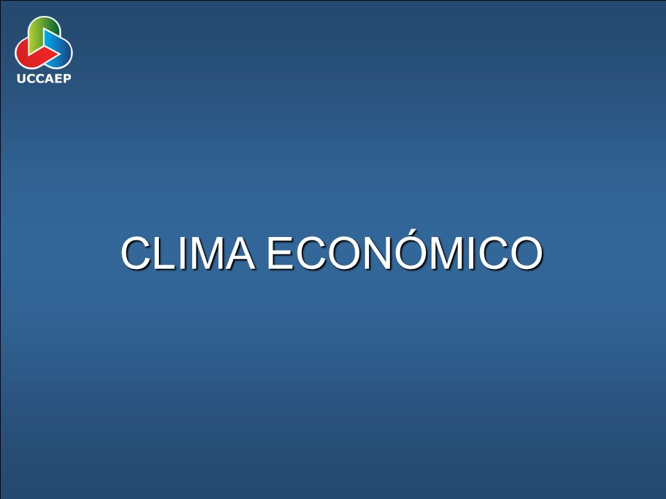 CLIMA ECONÓMICO